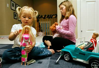 Image source:   Young Girls Playing with Barbie Dolls...Innocent or Social Conditioning?     www.eruditiononline.co.uk