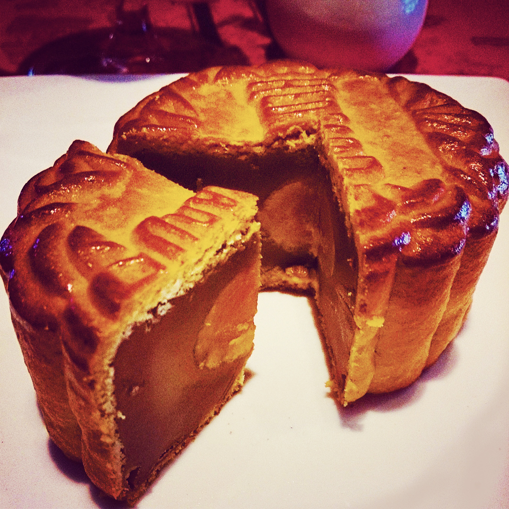 Traditional Baked Chinese Mooncake
