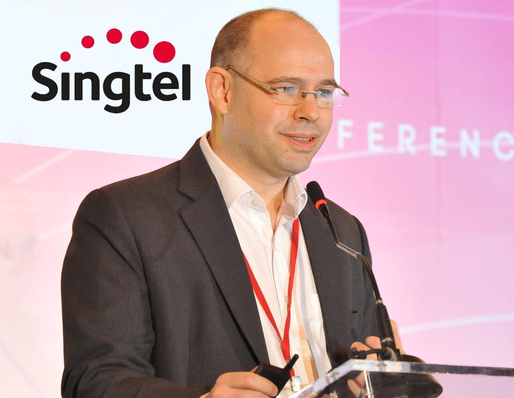 Johan Buse, VP of Consumer Marketing at Singtel. (Image credit: Marketing Interactive)