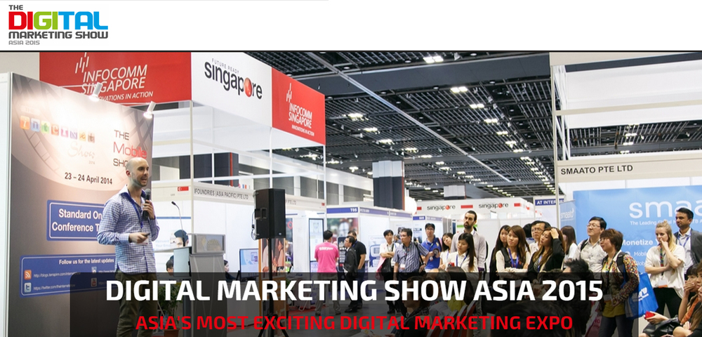 The 2nd Digital Marketing Show Asia event hosted in Singapore starts today.