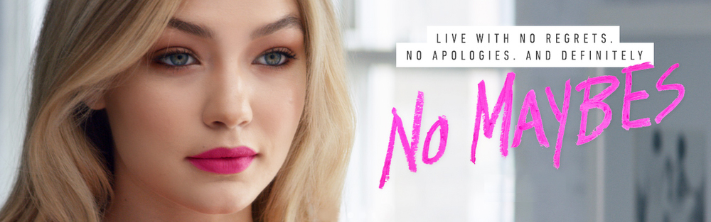 Gigi Hadid - The new face of Maybelline New York