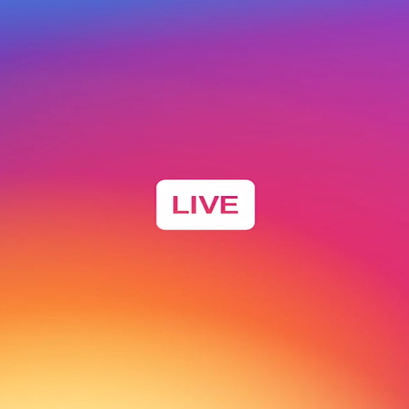 Instagram stories Live launch announced about a week ago