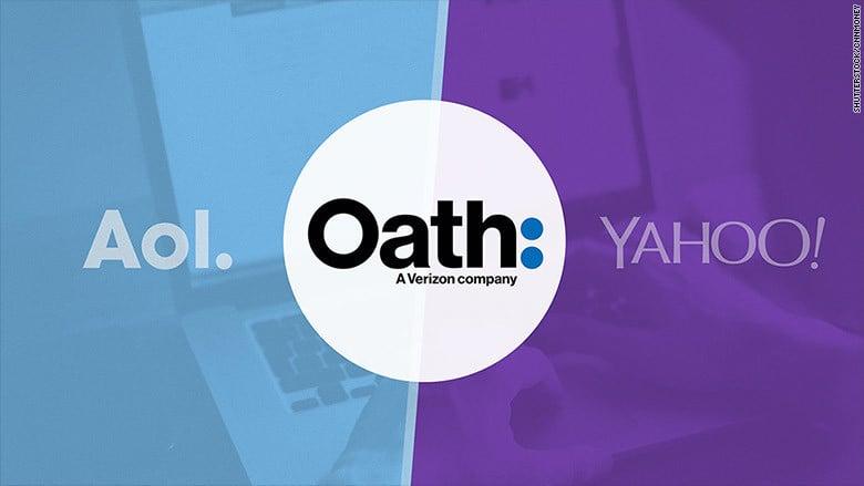 Aol and Yahoo has merged to create a Verizon-owned media company Oath