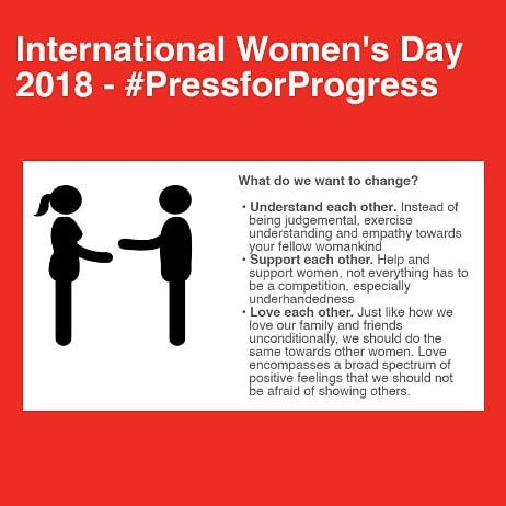 What do we want to achieve in 2018 on International Women's Day?  Find out more: 🔗 in bio  Or ✂ bit.ly/IntlWomensDay2018  We all have a place and part to play to make this 🌍 a better place ✌ ♥  #powerful #message #knowledge #power #equality #womensday #pressforprogress #singapore #digitalmarketing #socialmedia #agency #tweema #tweemabird