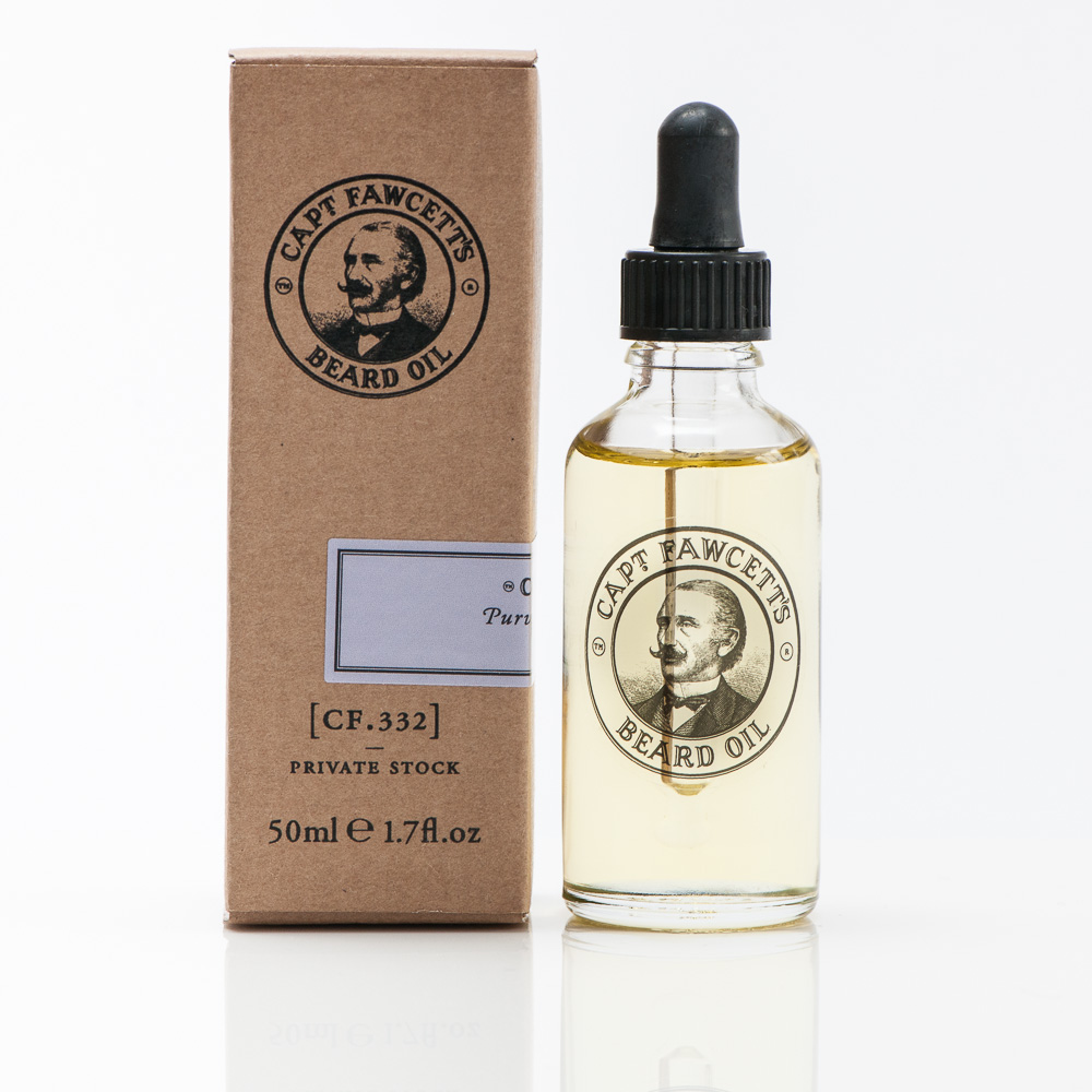 Captain's Fawcett's Private Stock Beard Oil, £34