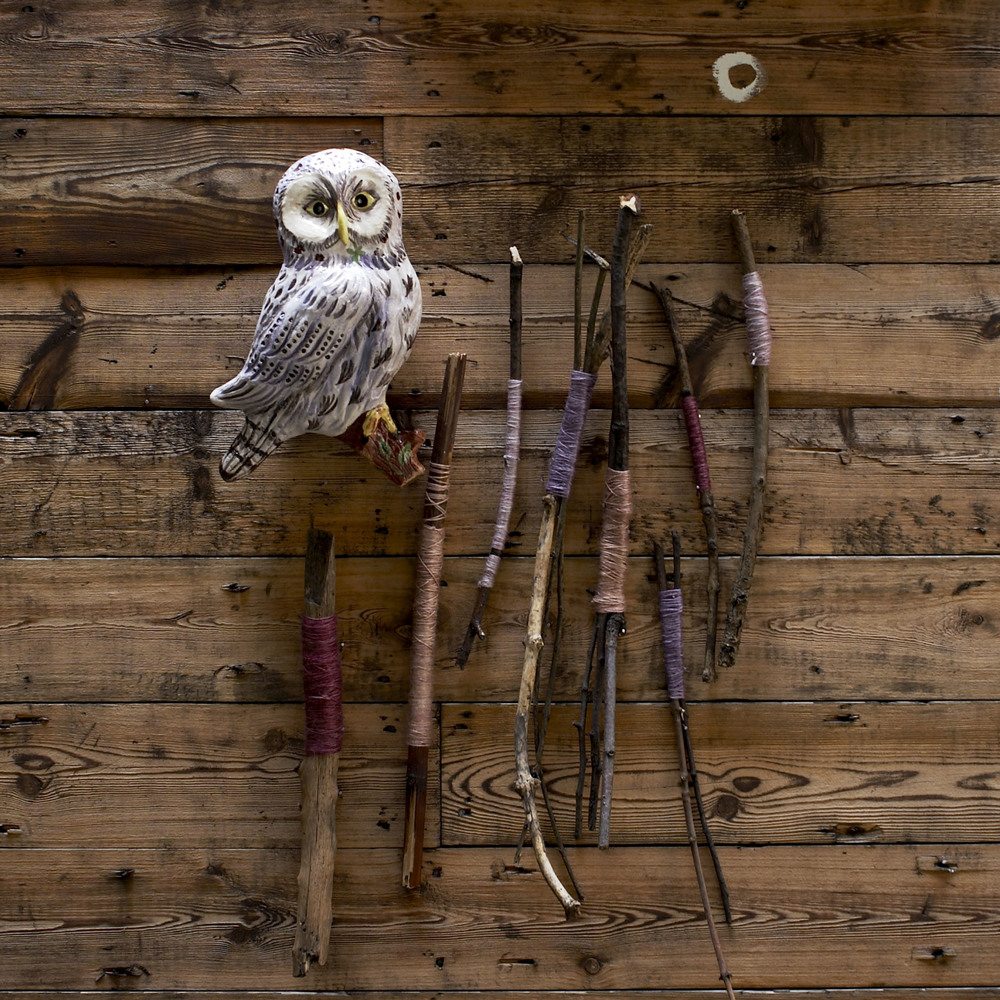 Loop,London owl still life with yarn and ceramics.jpg