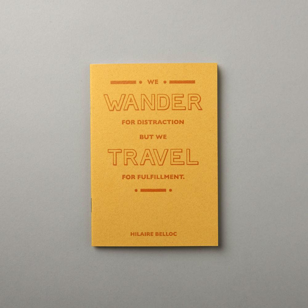 SORT notebooks, Pedal + Tread, £7