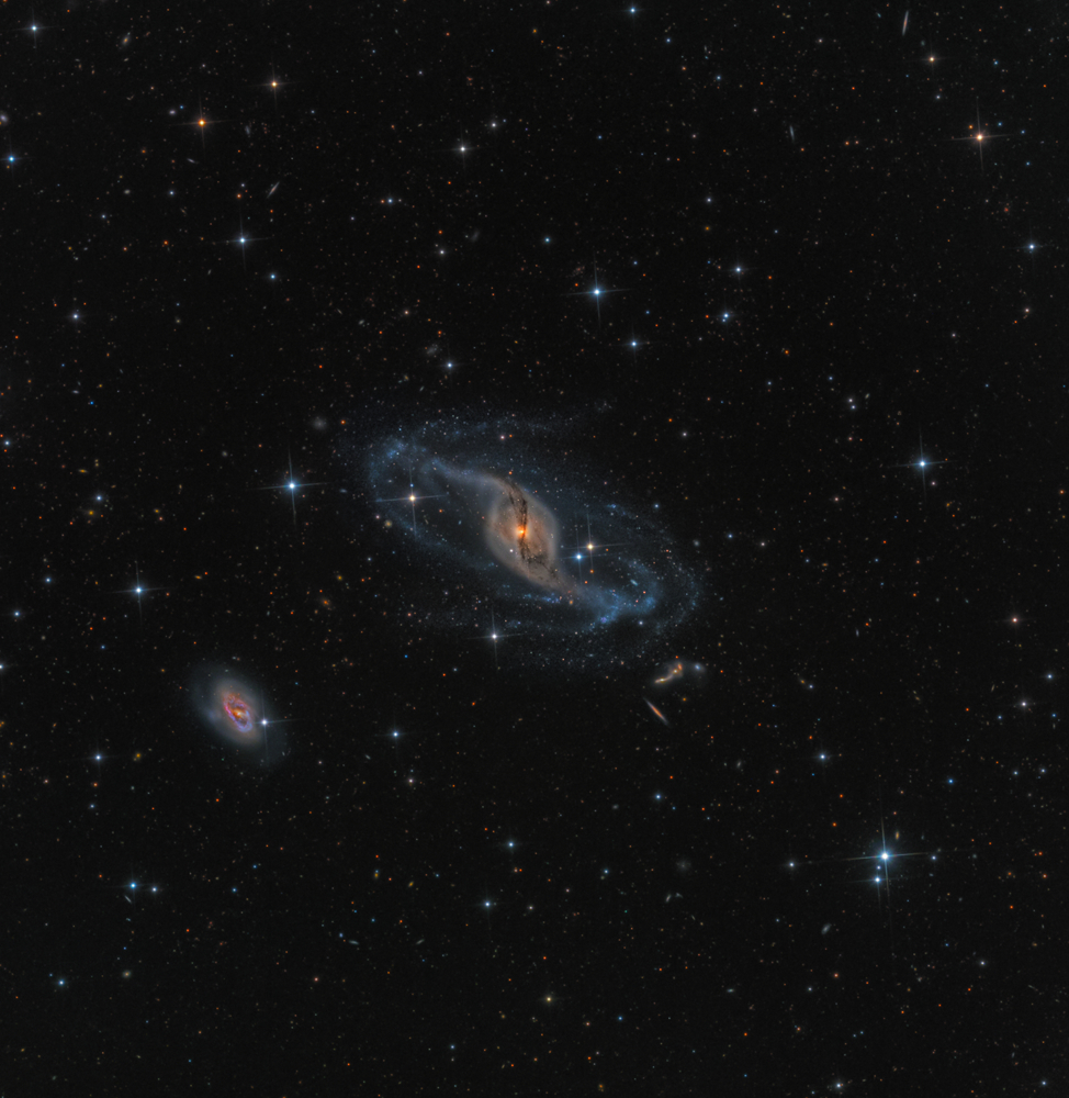 Robotic Scope winner: NGC 3718 by Mark Hanson (USA)