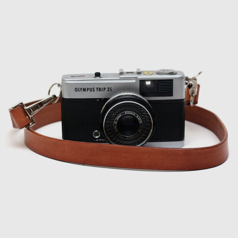 Sail Handmade Camera Strap, £35 A vegetable tanned leather camera strap, crafted by Sail Handmade in their small workshop.This colour is exclusive to The Future Kept.