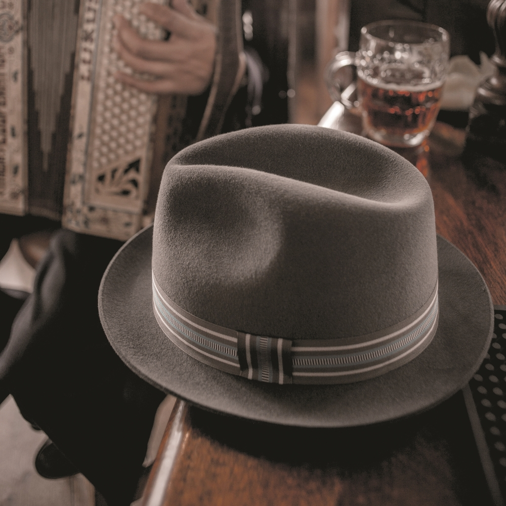 Fur felt Trilby, £295 Photo: Hanson Leatherby
