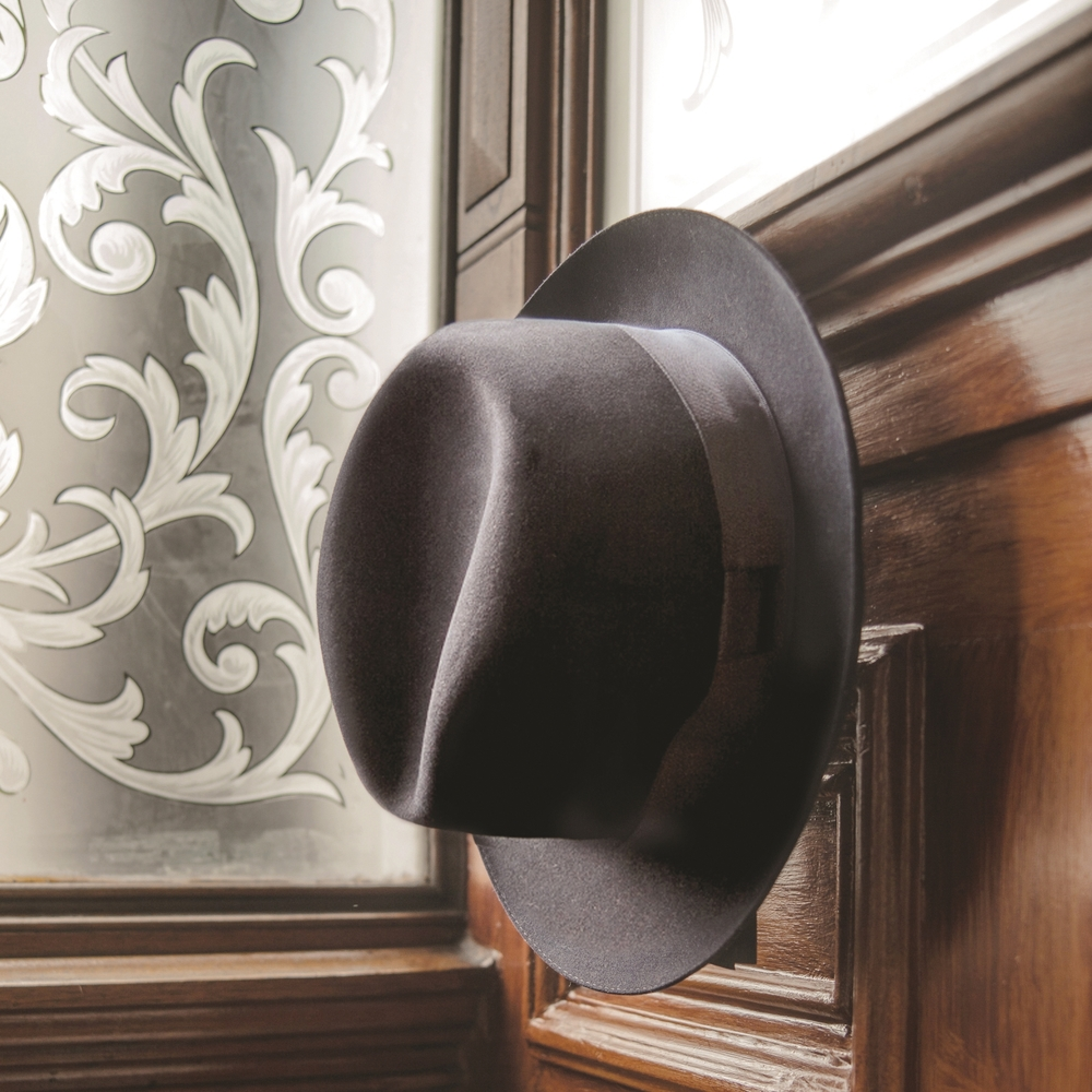 Fur and merino felt Fedora, £250 Photo: Hanson Leatherby