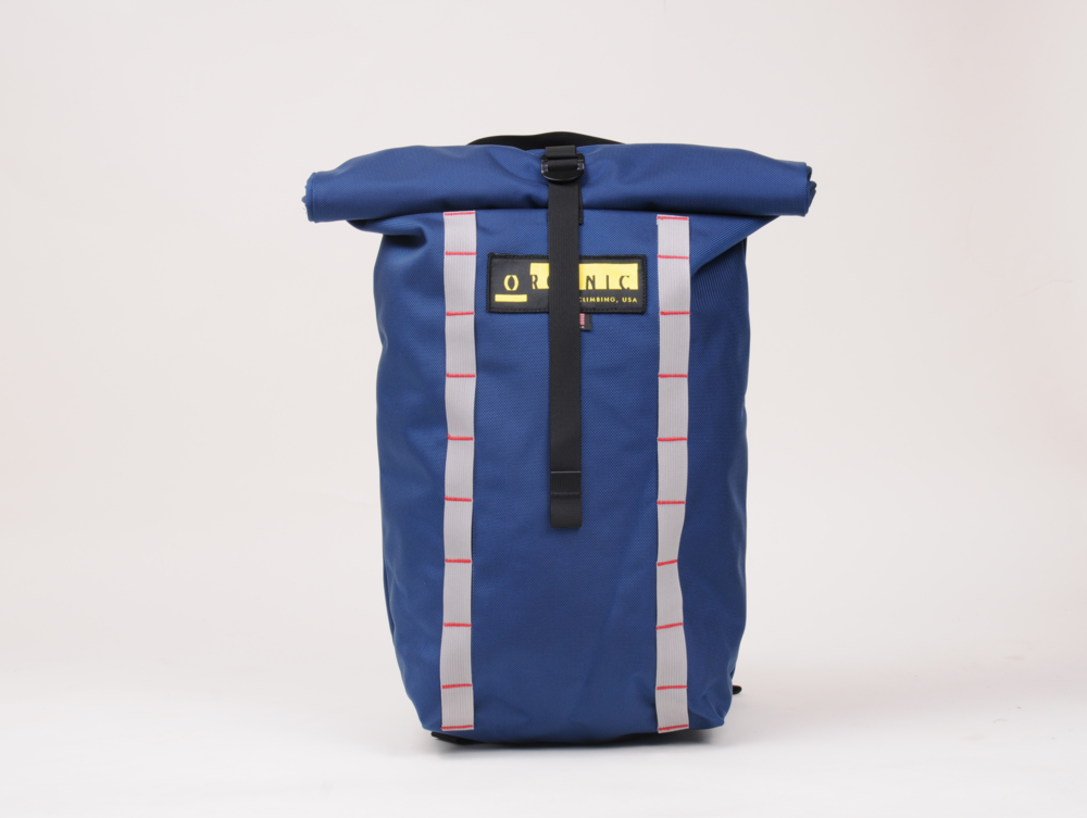 Organic Climbing roll-down pack from Kinoko, £90