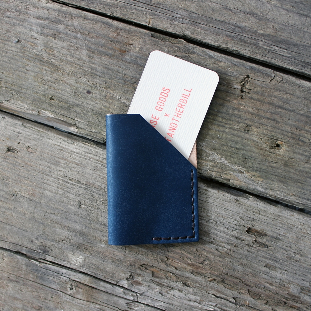 Noise Goods Card Holder  A practical and durable leather card holder. Noise Goods leather wares are designed and handmade in Portugal.  £32