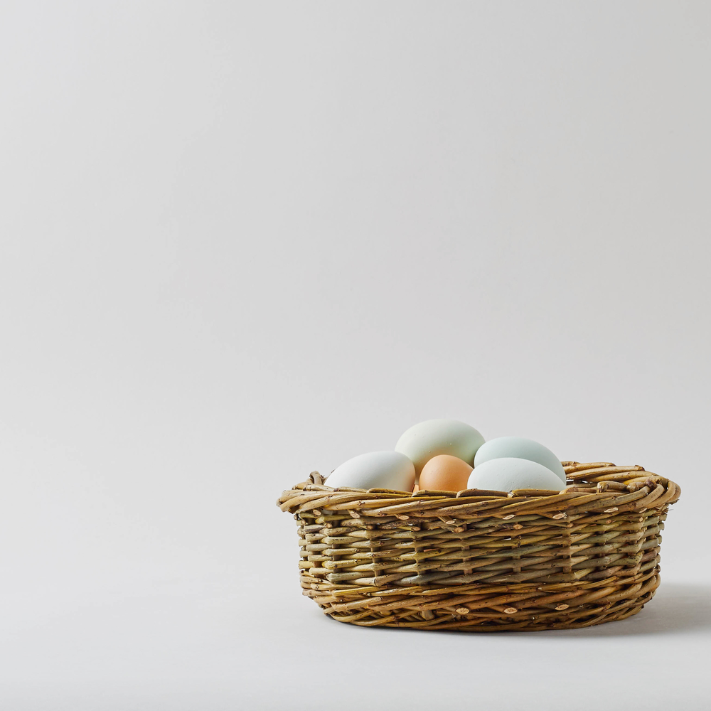 The (Not Just For) Bread Basket  Woven in willow, this basket is simple, practical, beautifully made and will last for a very long time.  £34