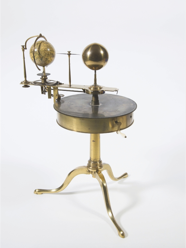 You can see fine working examples of orreries, such as this one, on display at the Museum of the History of Science, Oxford