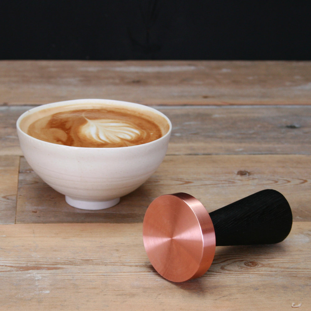 coffee tamper copper charred oak handle.jpg