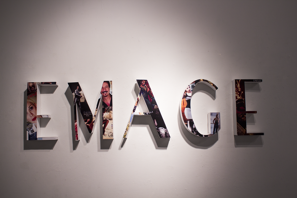 "In collaboration with Surviving Child Production company. These letters were used for an online commercial for the Digital Magazine ""Emage"".  Link to Emage Commercial."