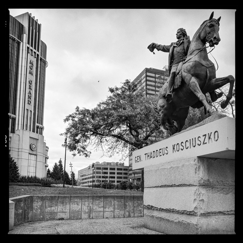 General Thaddeus Kosciuszko, Hero of the War for Independance, Detroit
