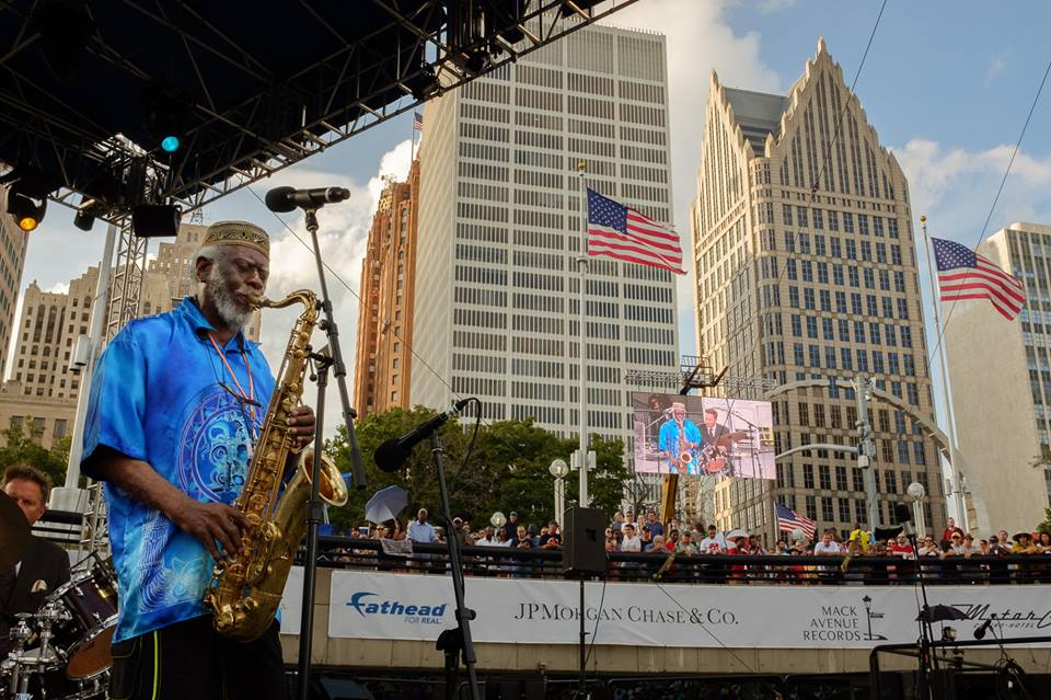 Pharaoh Sanders at Detroit Jazz Festival
