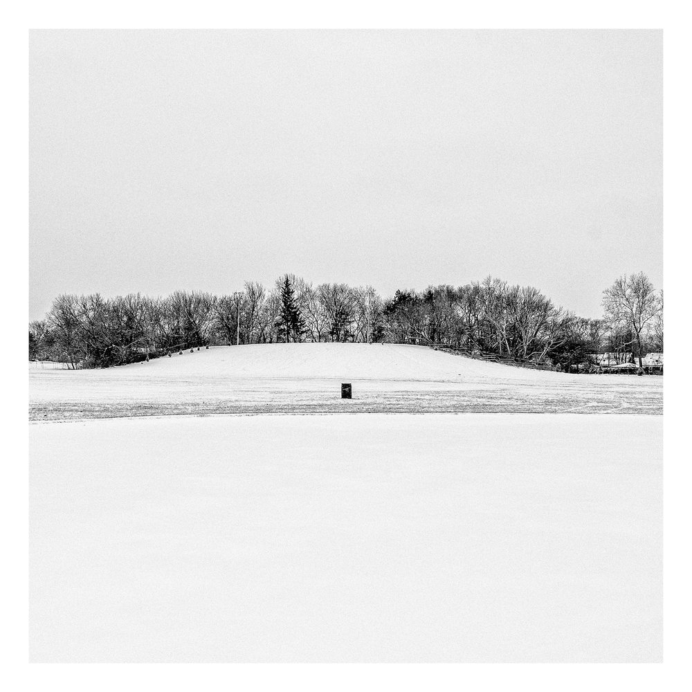 Sledding hill, Balduck Park, Detroit