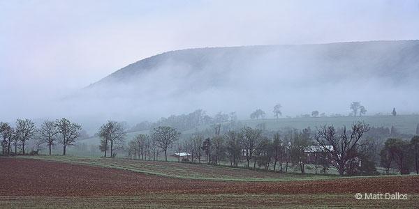 Mt. Nittany, Fog
