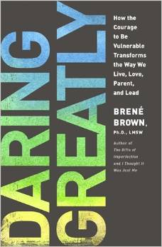 Daring Greatly | Brené Brown   Game Changer, possibly life changer.  Dig in and find the courage to be honest, to speak your mind, to give new things a try, and to be vulnerable.