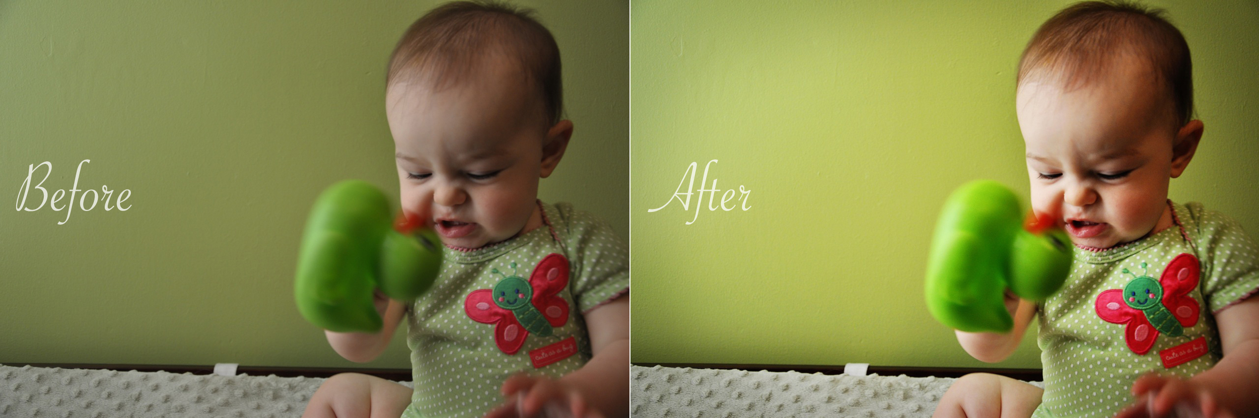 duck rage baby, playing on her changing table