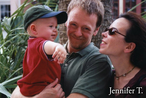 Jennifer T., mom to two gorgeously happy (and smart!) kiddos, wife and homeschooler. Read her bio below.