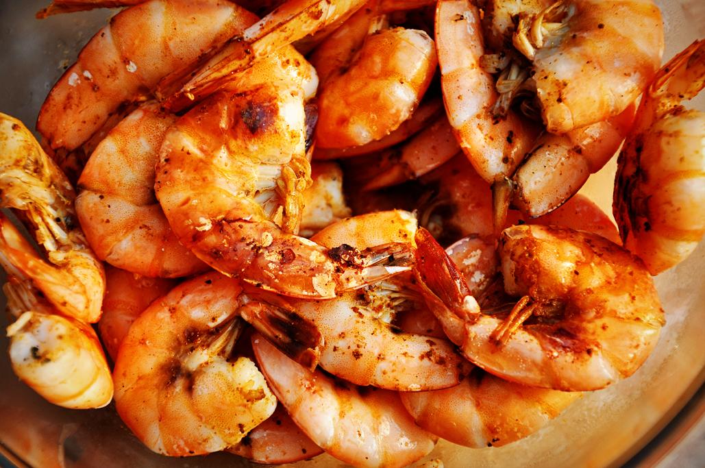 4 oz of shrimp = 2 POINTS