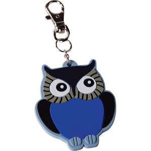 Rubber Key Chain :: It's just cute. Don't you agree? I need this on my keychain. NOTE: this little sweetie is currently on backorder. You can still get one, but it won't arrive by Christmas.