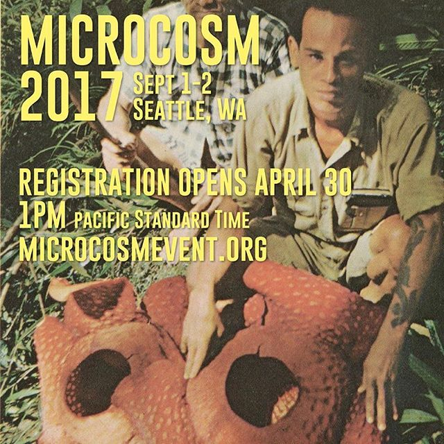 At MICROCOSM we don't have a vendor show: we have the Expedition Tables. Table after table of fixed-price plants, animals, supplies and exotic oddities for you to peruse and purchase. The catch? We only let a few people in at a time to purchase, and order is based on your registration number.  Those who register early get first crack at the tables.  Online registration opens this Sunday, April 30, at 1 PM (PST). Are you ready?