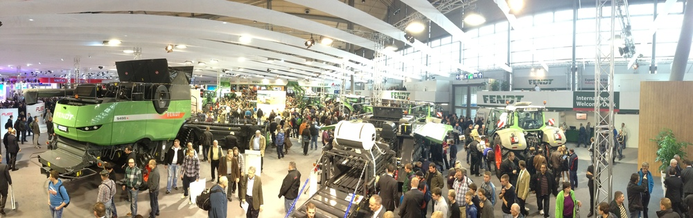 Nearly a half million visitors attended Agritechnica 2013 in Hanover, Germany, last month.