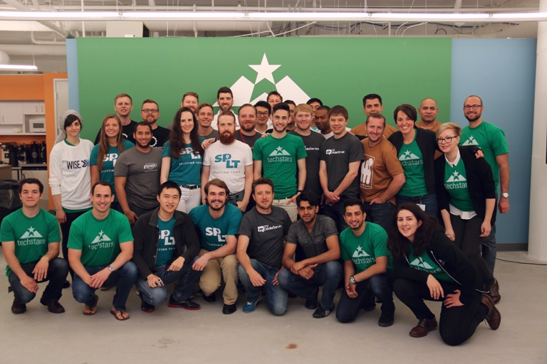 Members of the inaugural Techstars Mobility, driven by Detroit program work with mentors on a weekly basis to prepare for Demo Day in September.