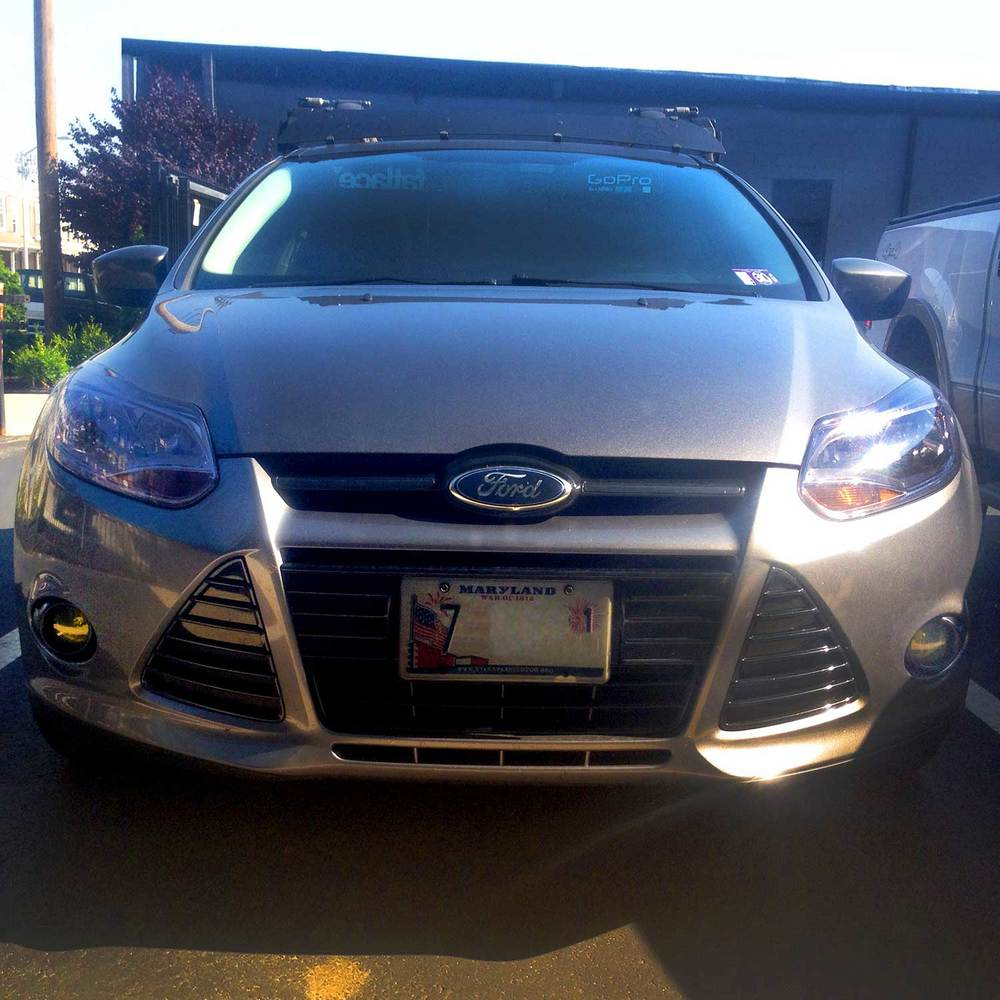 Also tinted my headlights, foglights, and plate covers