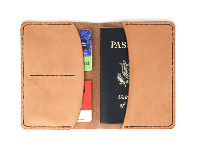 15. Insert passport and credit cards. Go traveling!