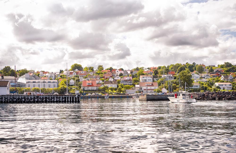 Den Hvite By ved Oslofjorden - Åsgårdstrand