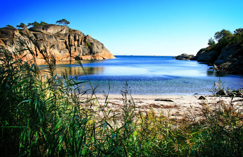 Hvorfor reise til Middelhavet, når man har Skagerrak og Strandvika bare 2 timer fra Oslo.
