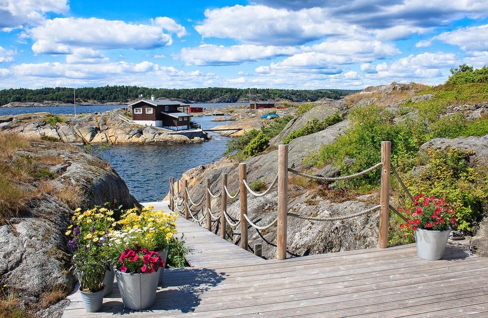 Store Arøya - et idyllisk hytteparadis.