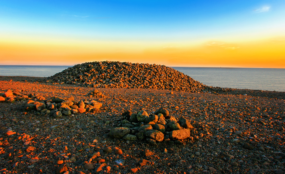 Mølen - Et av Skandinavias flotteste gravfelt.