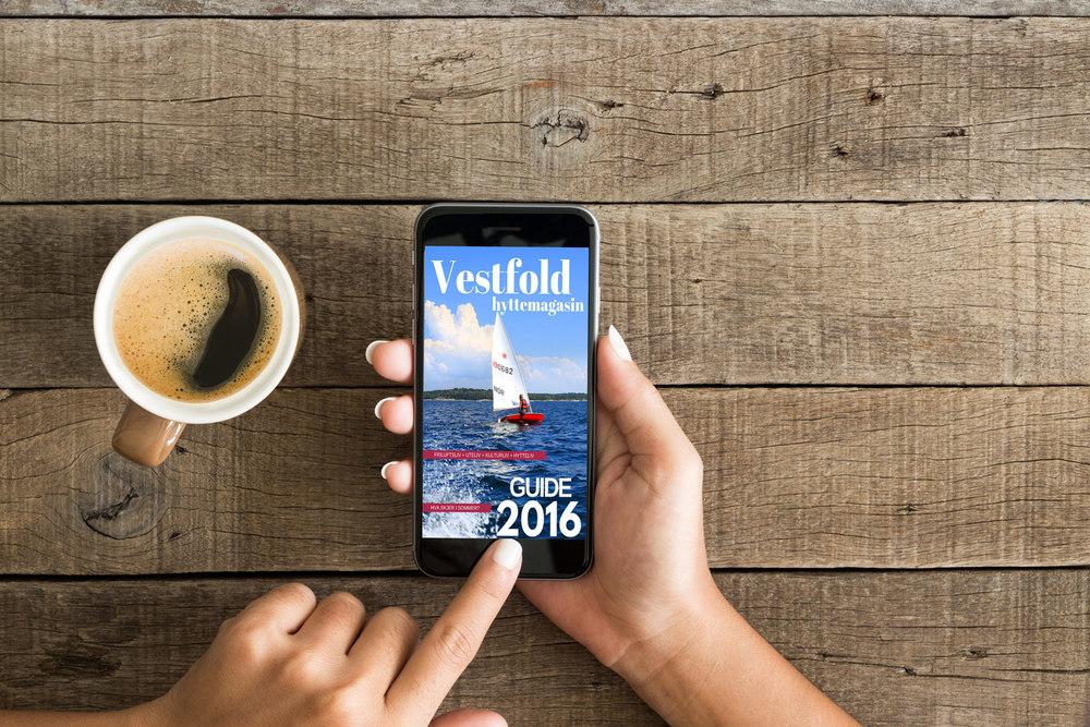 Nyhet: Hele magasinet publiseres digitalt samtidig med papirutgave i juni.