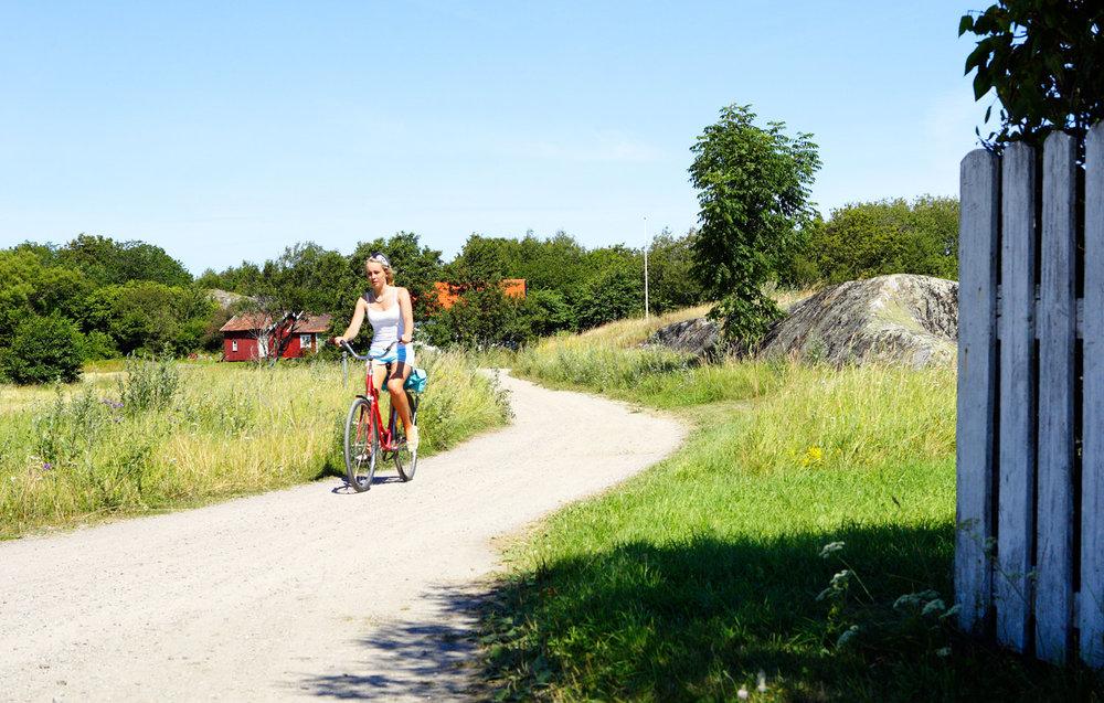 Sykkelen er din beste venn på Koster. Herlig natur, gamle husmannsplasser, enger med sjeldne   orkidéenger, sandstrender, og solvarme svaberg - bedre blir det ikke!