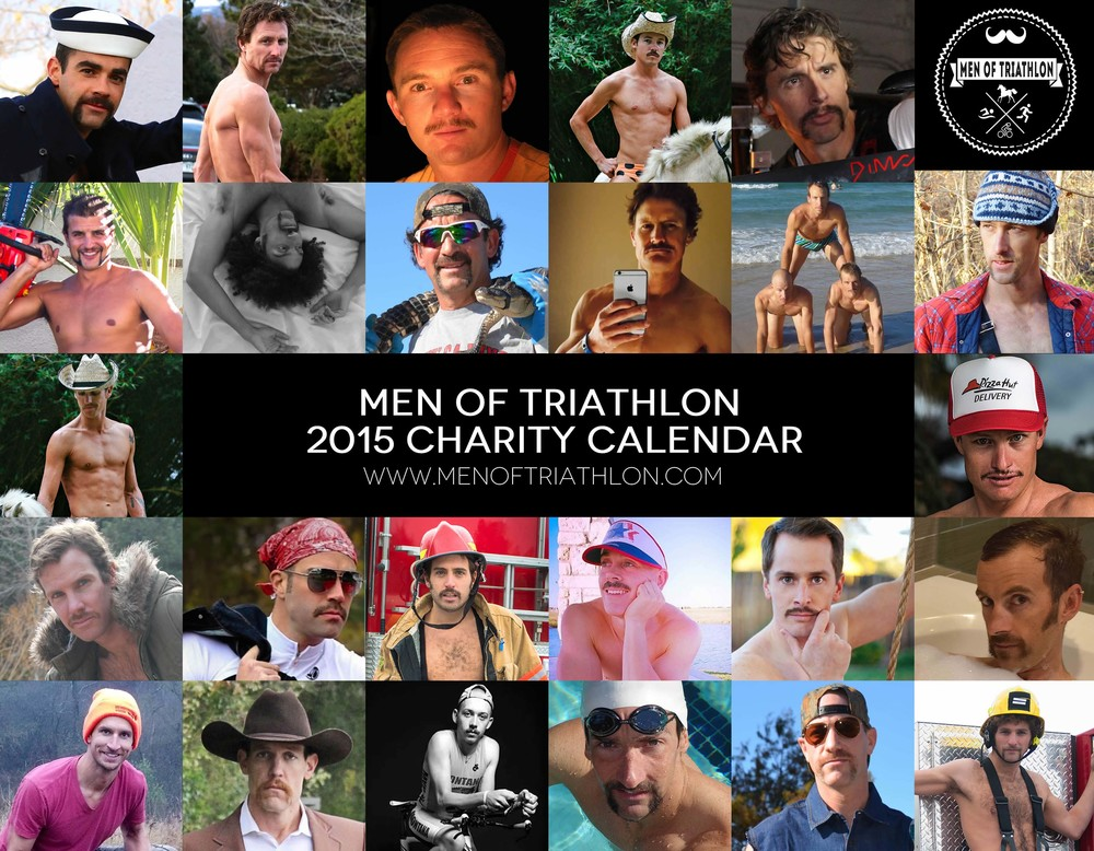 Click the image to download the full 2015 Men of Triathlon Calendar