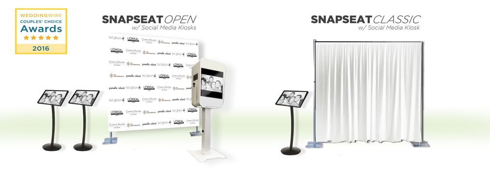 SnapSeat Photo Booth Features
