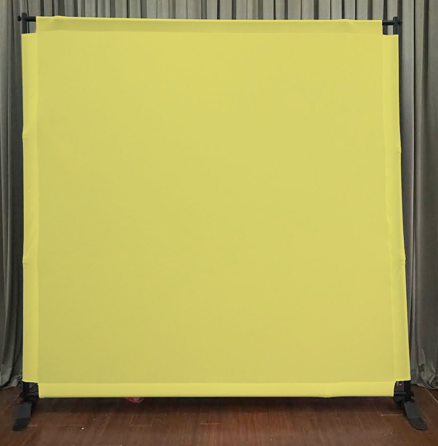 Yellow Backdrop
