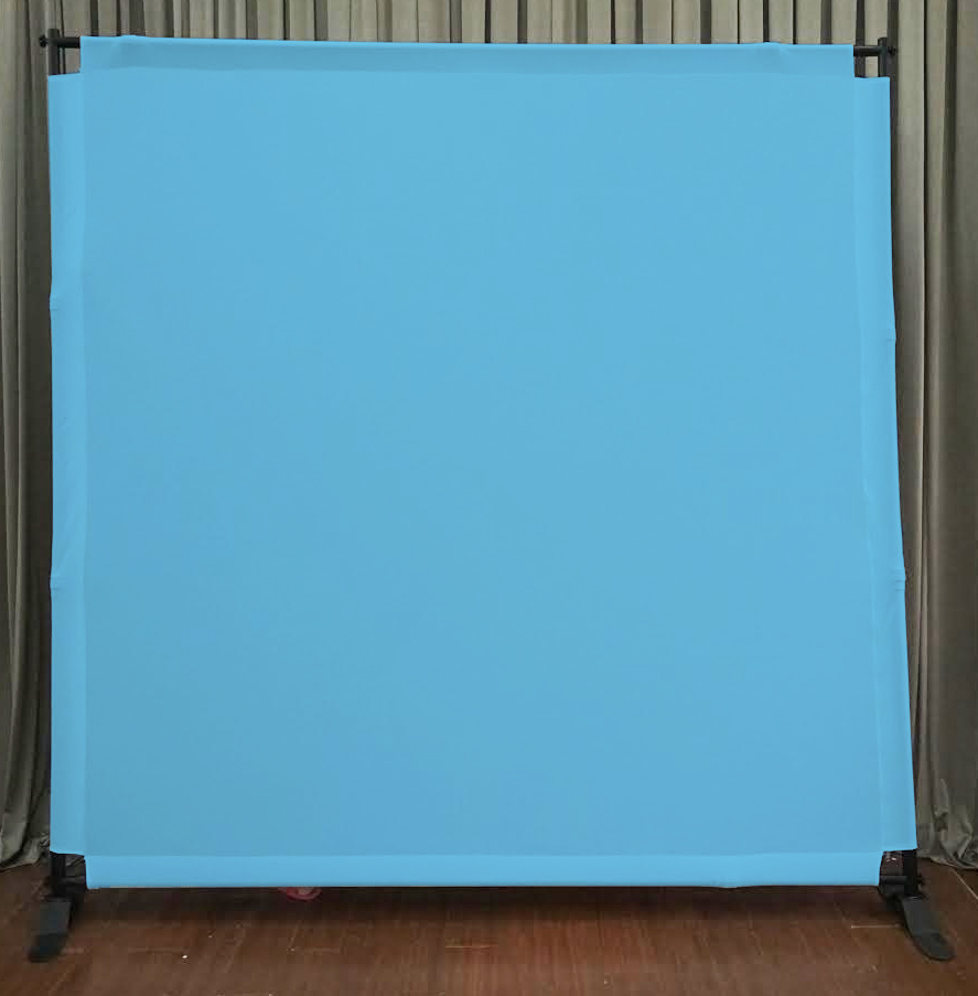 Light Blue Backdrop