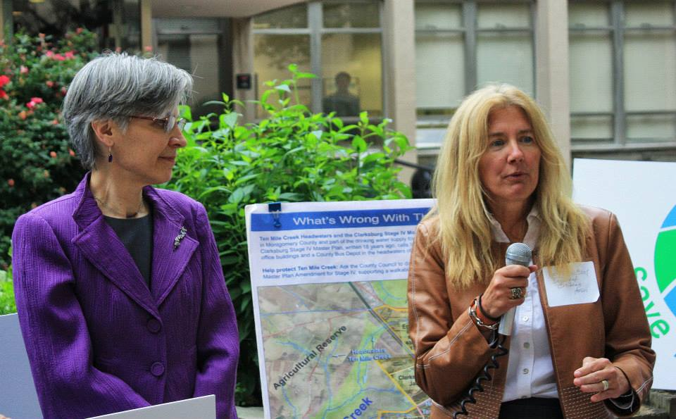 As a Save Ten Mile Creek coalition member, I work to protect MoCo's clean water sources.