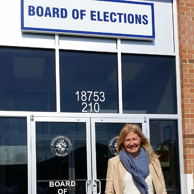 It's official! I filed my candidacy for Montgomery County Council At-Large