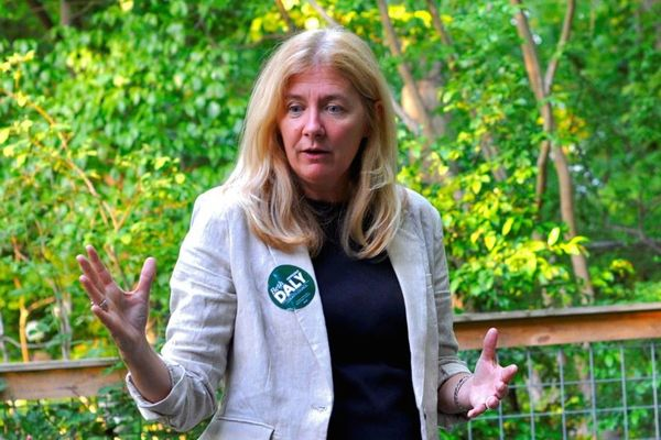 Speaking in Takoma Park