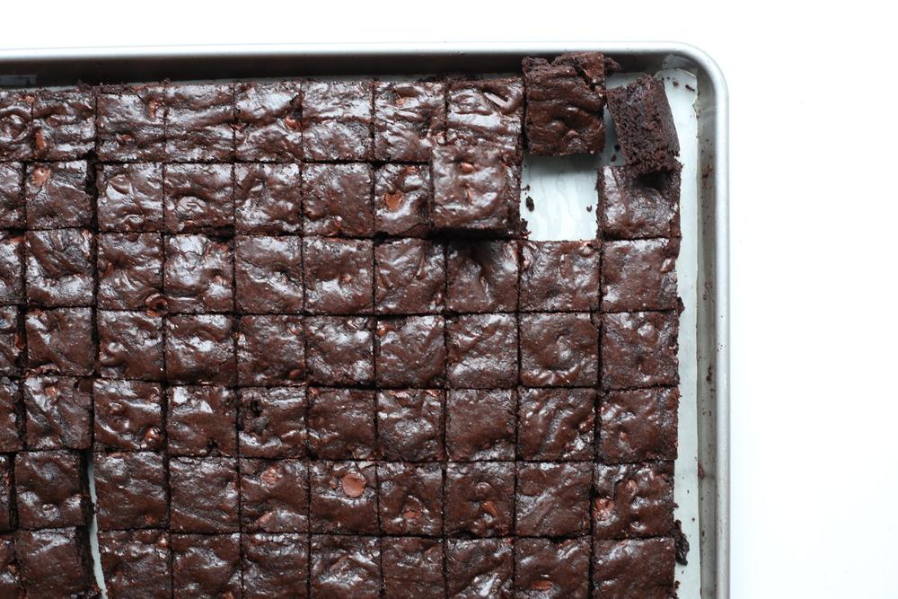 Sheet Pan Brownies 600 Acres