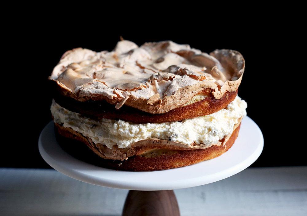 Passionfruit Meringue Cake 600 Acres